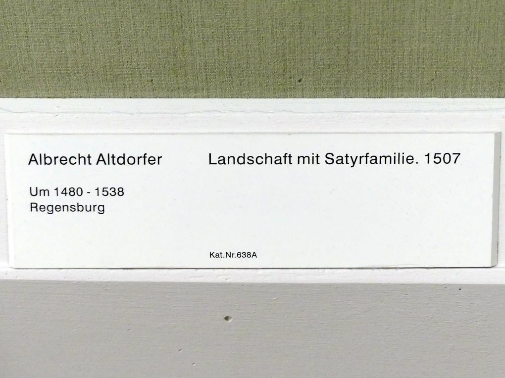 Albrecht Altdorfer: Landschaft mit Satyrfamilie, um 1507, Bild 2/2