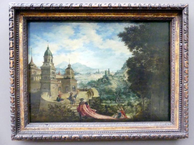 Albrecht Altdorfer: Allegorie: Der Bettel sitzt der Hoffart auf der Schleppe, 1531