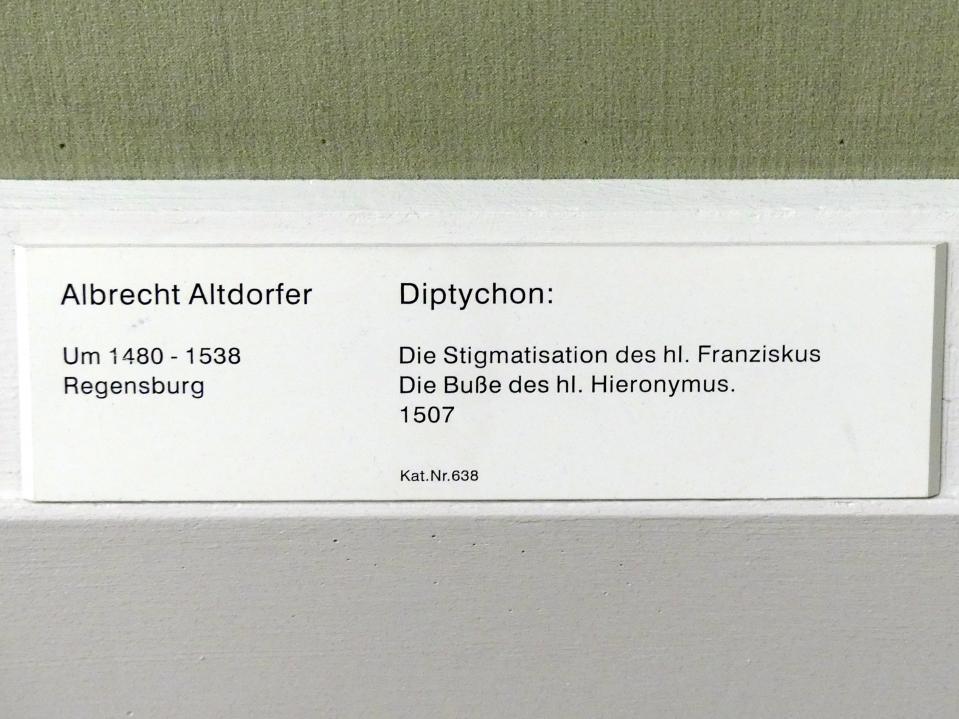 Albrecht Altdorfer: Diptychon, 1507