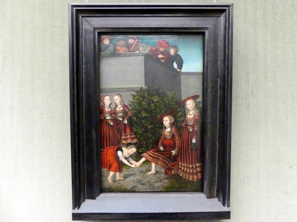 Lucas Cranach der Ältere: David und Bathseba, 1526