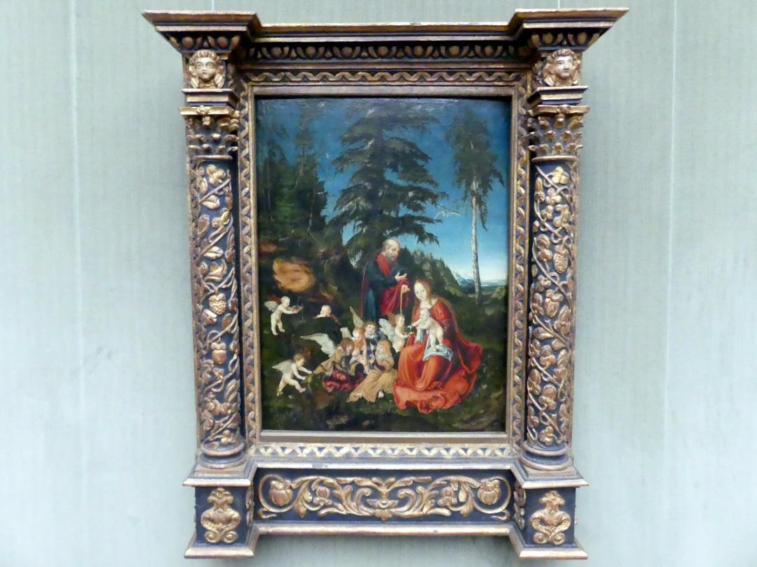 Lucas Cranach der Ältere: Die Ruhe auf der Flucht nach Ägypten, 1504