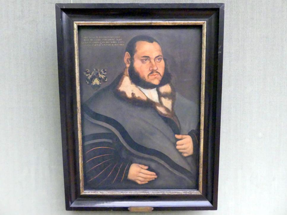 Lucas Cranach der Ältere: Johannes Carion (1499-1537/38), um 1530