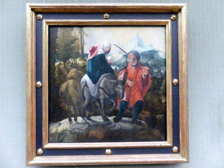 Wolf Huber: Die Flucht nach Ägypten, um 1525 - 1530