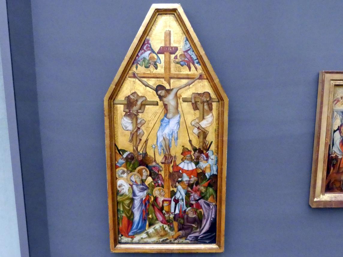 Meister der Kaufmannschen Kreuzigung: Die Kreuzigung Christi (Kaufmannsche Kreuzigung), um 1350