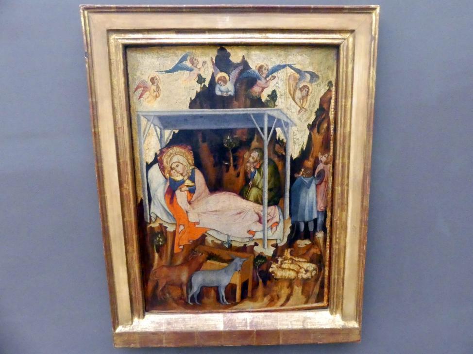 Die Geburt Christi, um 1350