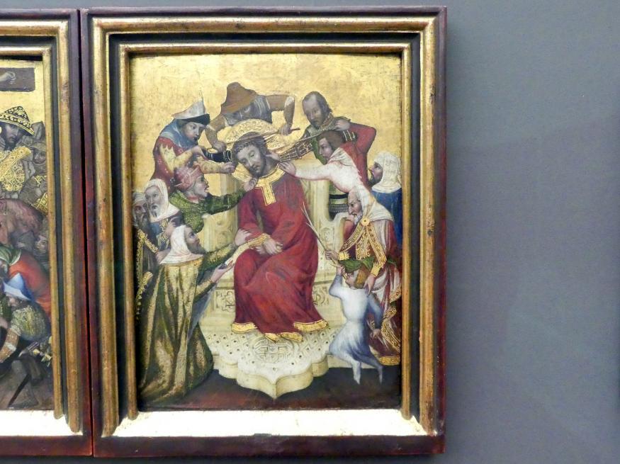 Die Verspottung Christi, um 1400 - 1410