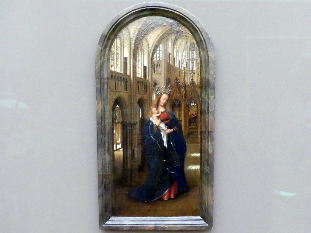Jan van Eyck: Die Madonna in der Kirche, um 1440