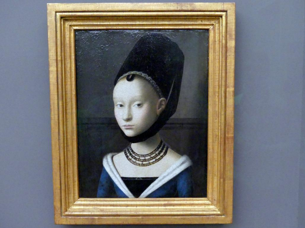 Petrus Christus: Bildnis einer jungen Dame, um 1470
