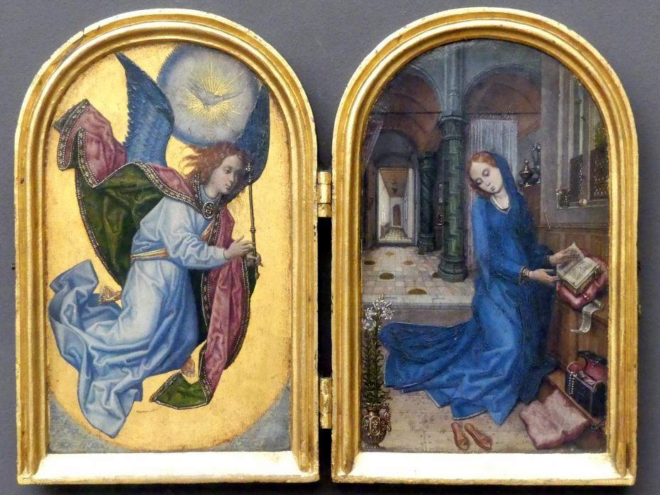 Meister von 1499: Die Verkündigung an Maria, Undatiert
