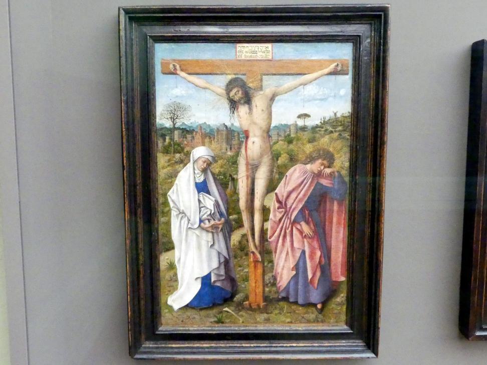 Jan van Eyck (Nachfolger): Christus am Kreuz, um 1440