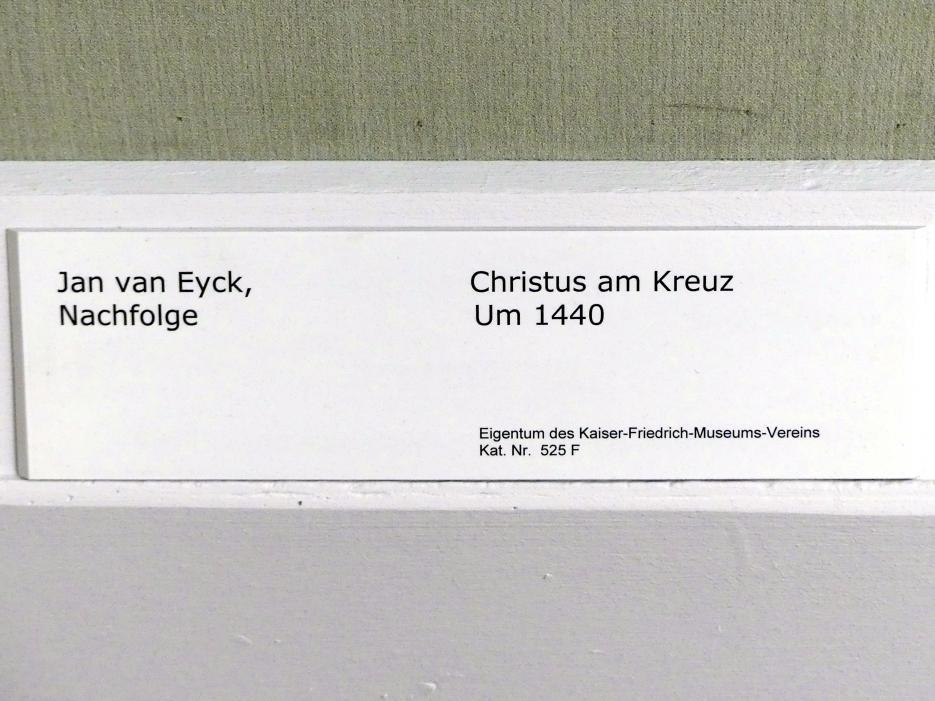 Jan van Eyck (Nachfolger): Christus am Kreuz, um 1440, Bild 2/2