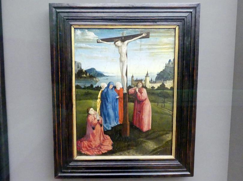 Konrad Witz: Christus am Kreuz, um 1445 - 1450