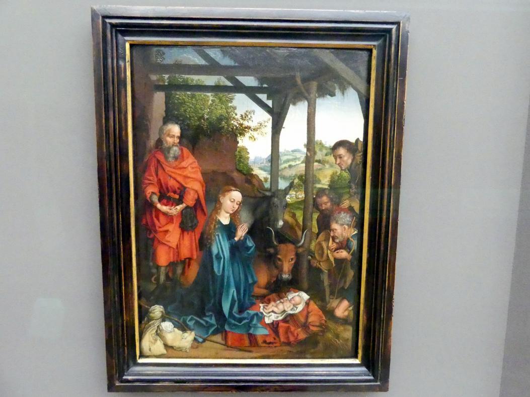 Martin Schongauer: Die Geburt Christi, Um 1480