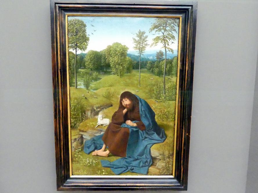 Geertgen tot Sint Jans: Johannes der Täufer in der Einöde, Um 1484