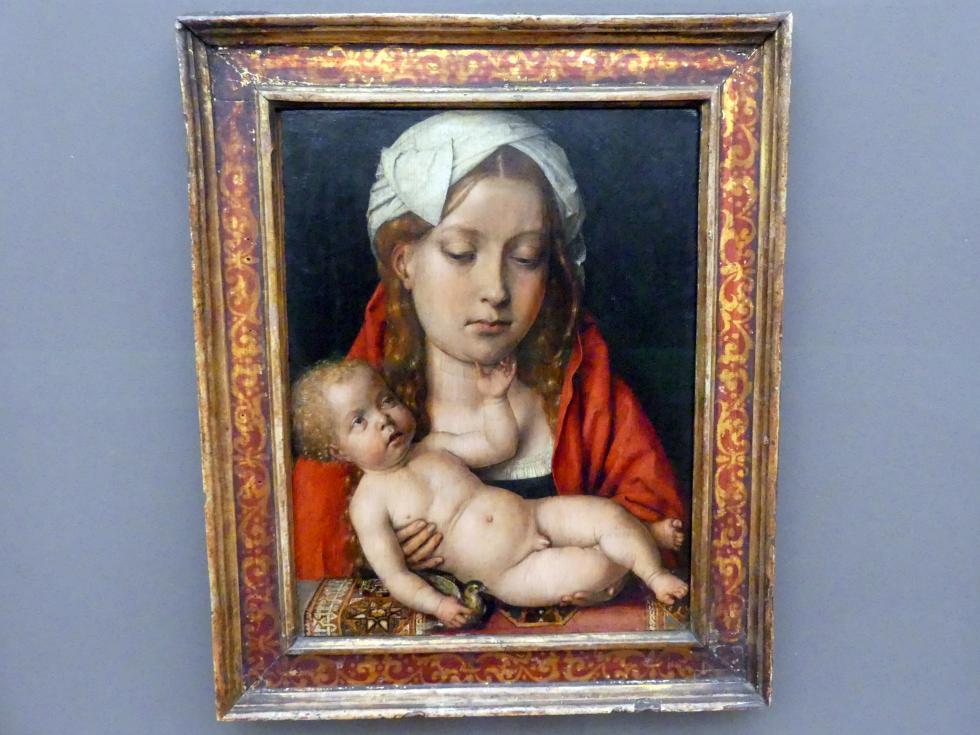 Michel Sittow: Maria mit dem Kind, um 1515 - 1518