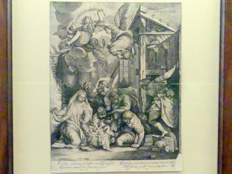 Jakob Matham (Werkstatt): Anbetung der Hirten, 1621