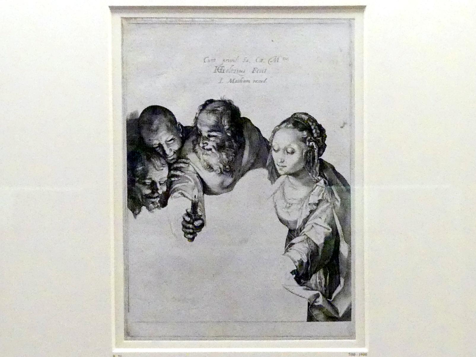 Hendrick Goltzius: Anbetung der Hirten, um 1599