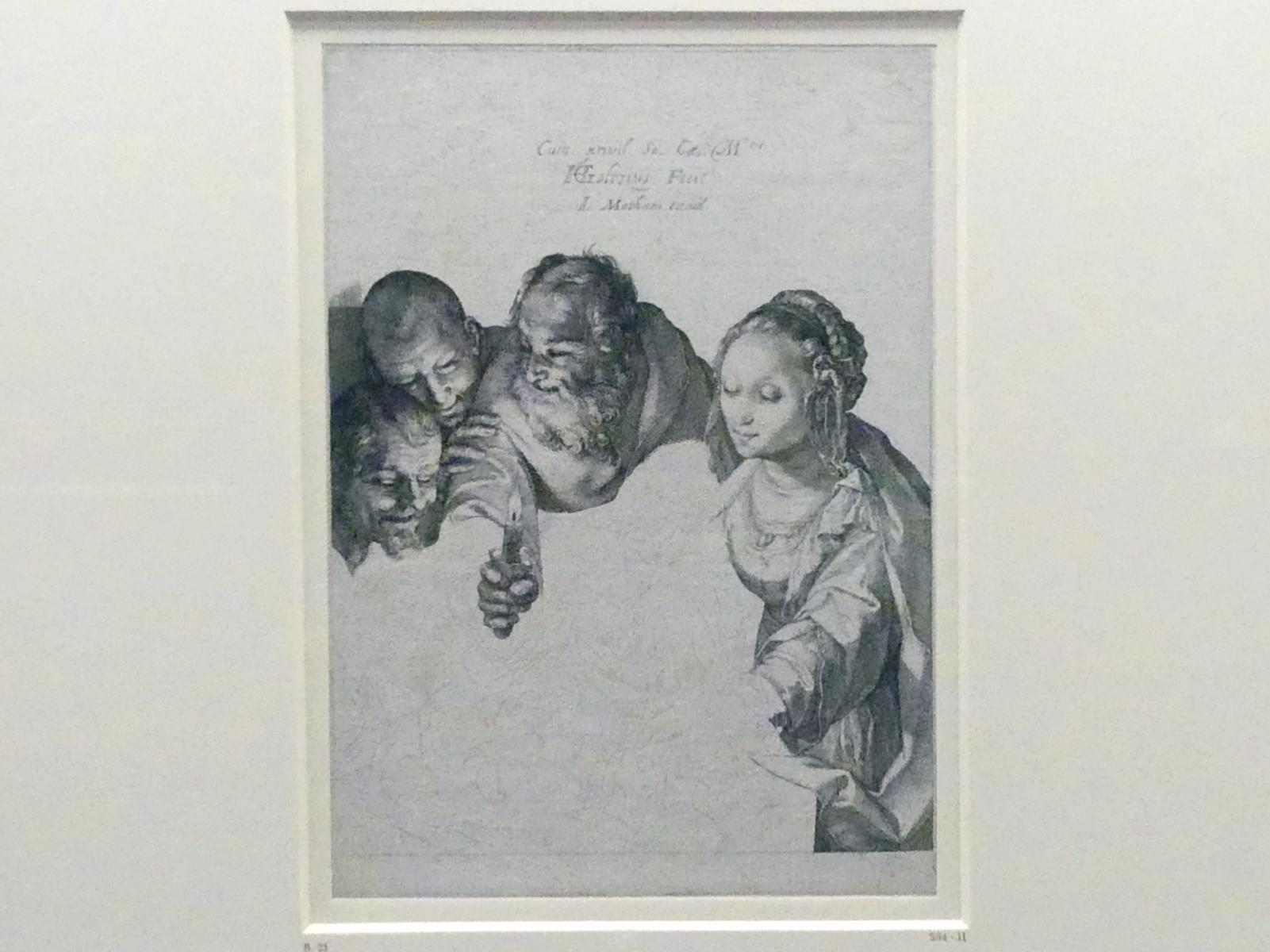 Hendrick Goltzius: Anbetung der Hirten, nach 1599
