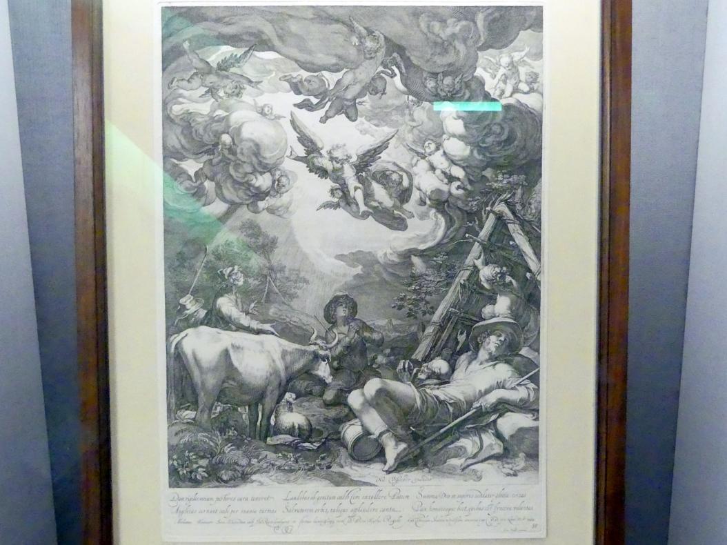 Jan Saenredam: Verkündigung an die Hirten, 1599