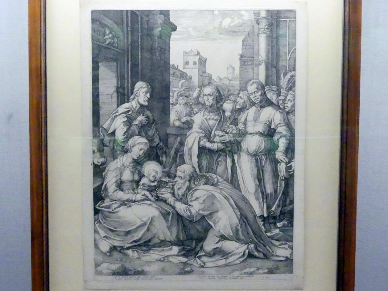 Hendrick Goltzius: Anbetung der Könige, 1594