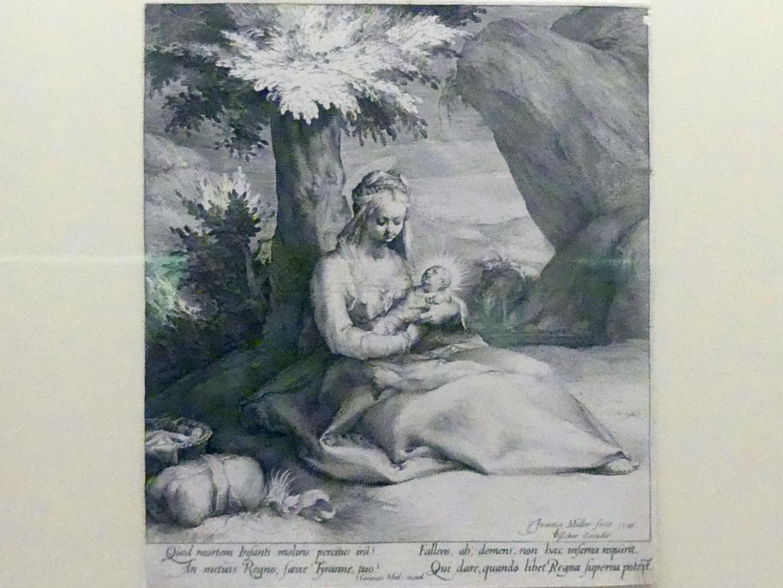 Jan Harmensz Muller: Die Ruhe auf der Flucht nach Ägypten, 1593