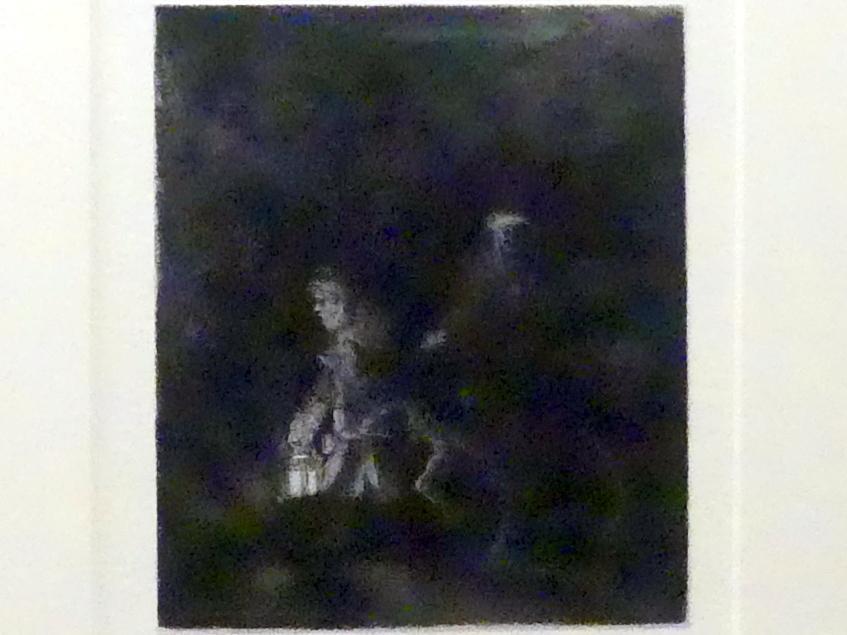 Rembrandt (Rembrandt Harmenszoon van Rijn): Die Flucht nach Ägypten, 1651