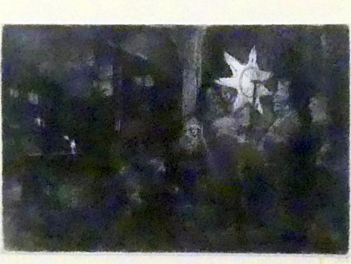 Rembrandt (Rembrandt Harmenszoon van Rijn): Stern von Bethlehem, Nachtstück, Um 1651