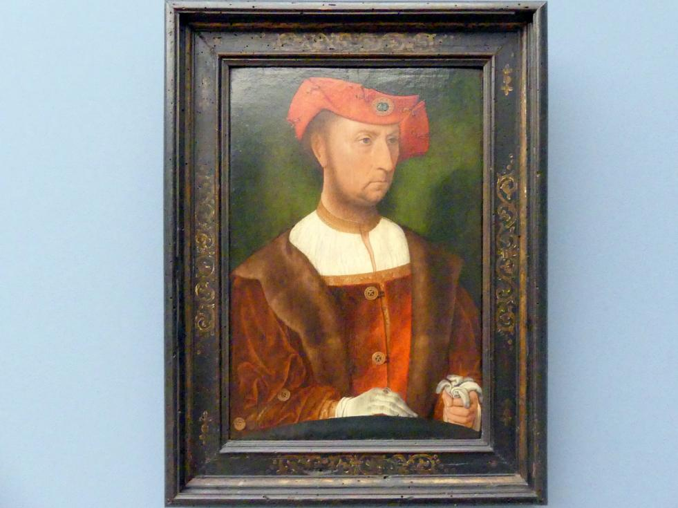 Jan Mostaert: Bildnis eines Mannes, Um 1520