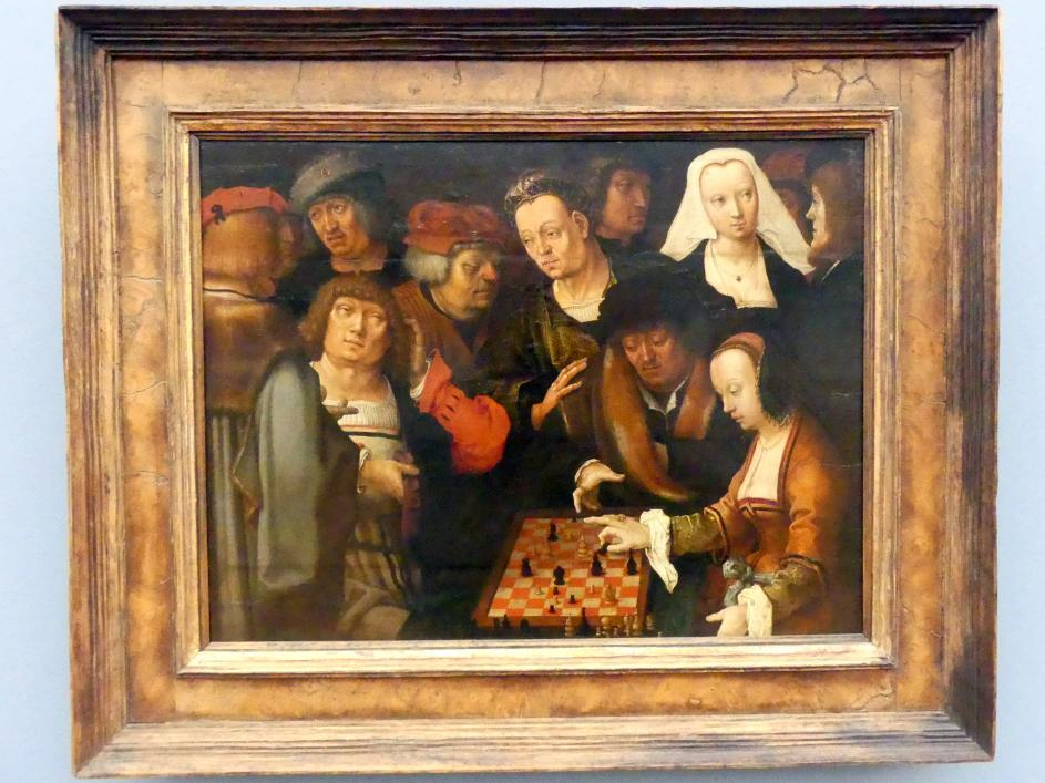 Lucas van Leyden: Die Schachpartie, um 1518