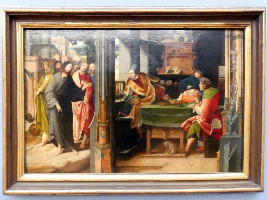 Cornelis Engebrechtsz: Die Berufung des Matthäus zum Apostelamt, Undatiert