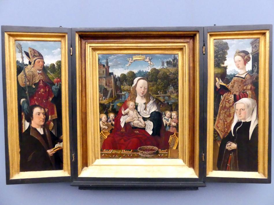 Jacob Cornelisz. van Oostsanen: Triptychon des Augustinus van Teylingen, um 1518