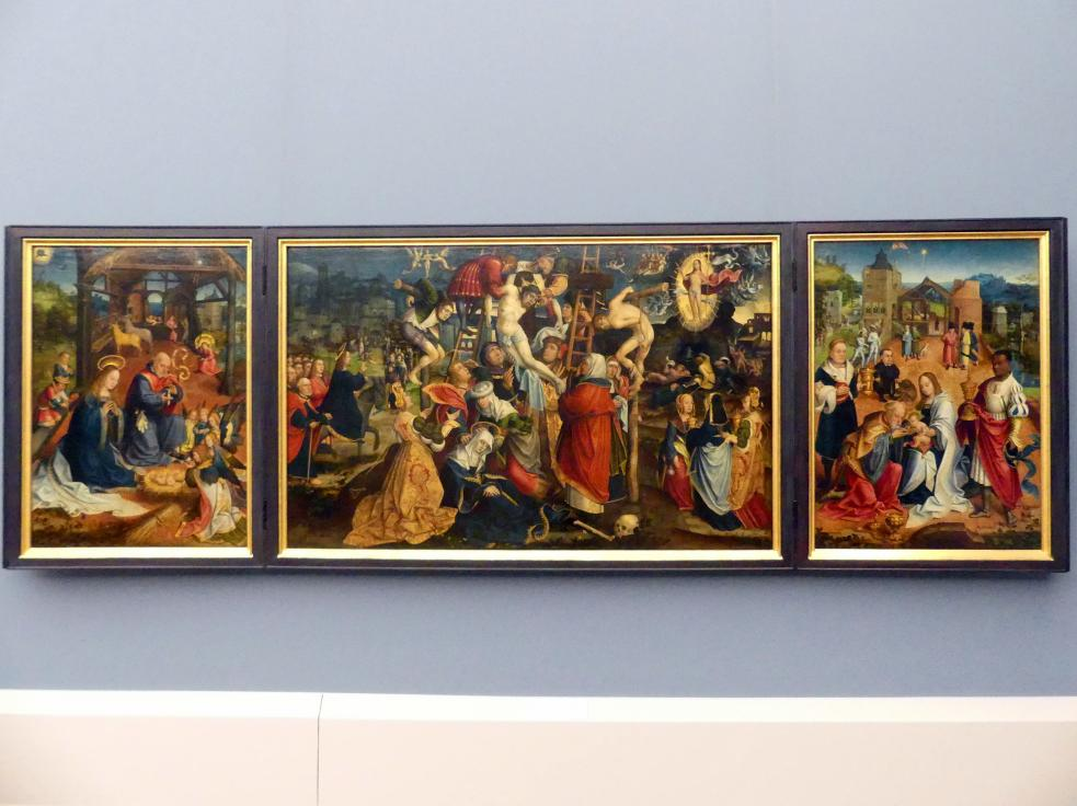 Jacob van Utrecht: Triptychon mit der Kreuzabnahme, 1513