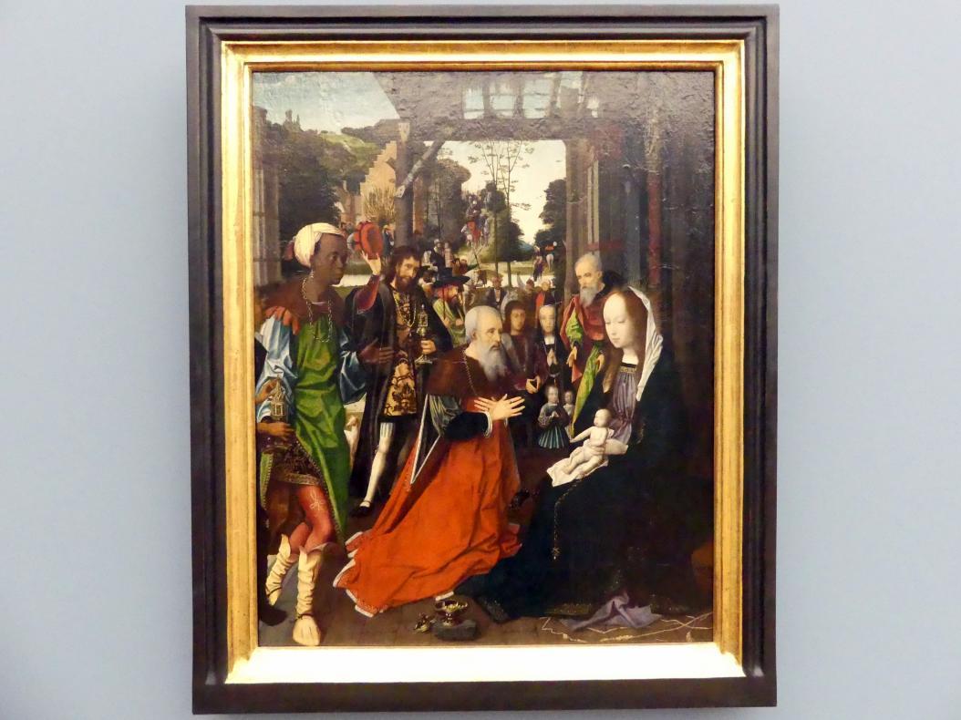 Jan Provost: Die Anbetung der Könige, um 1505