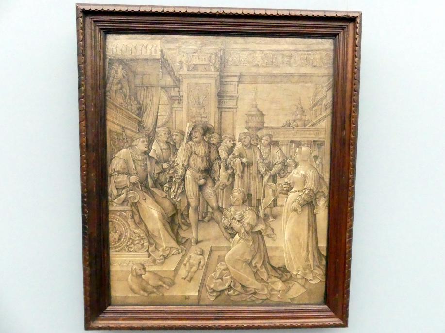 Jan Rombouts der Ältere: Das Urteil Salomonis, 1528