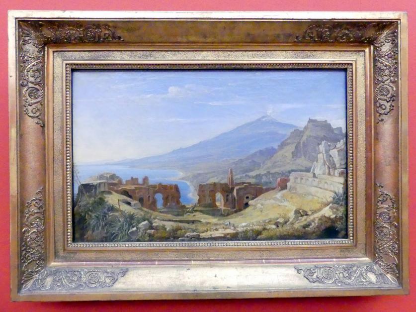 Franz Ludwig Catel: Das Theater von Taormina, Um 1818