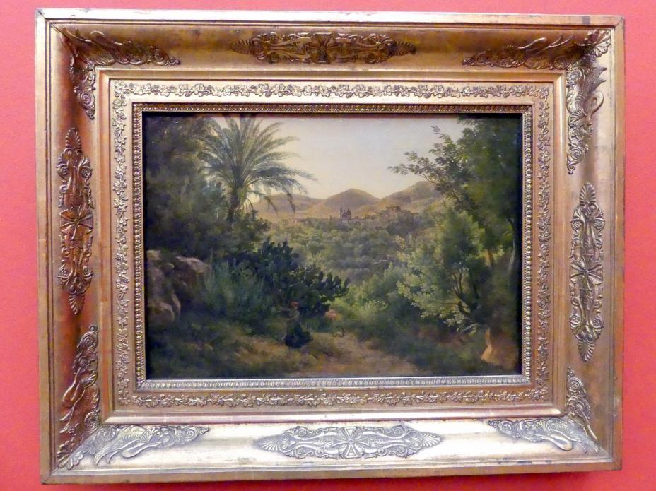 Josef Rebell: Ansicht von Casamicciola auf der Insel Ischia, 1813