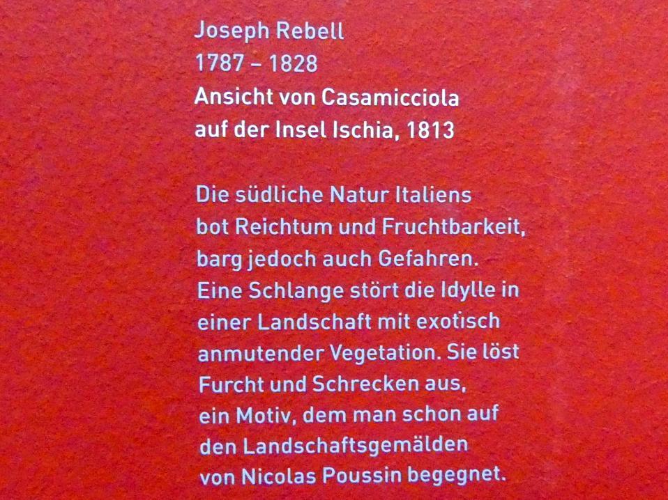 Josef Rebell: Ansicht von Casamicciola auf der Insel Ischia, 1813, Bild 2/2