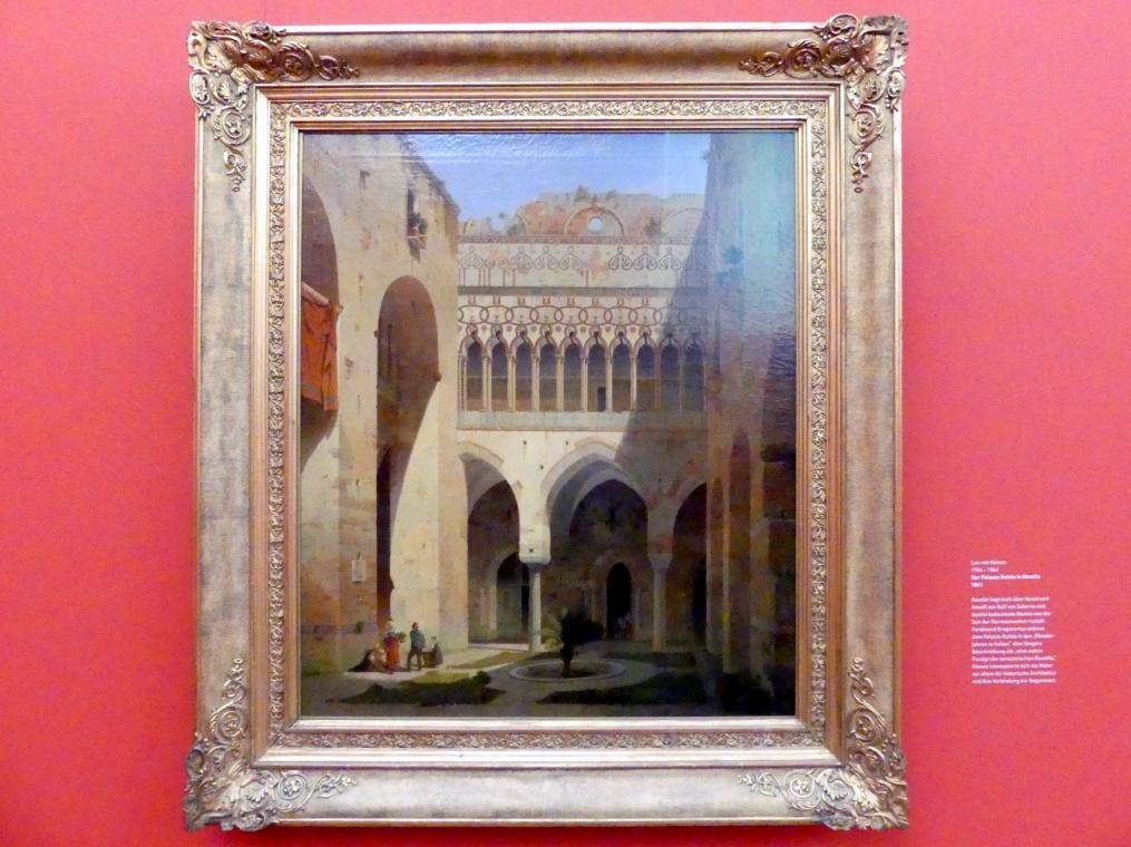 Leo von Klenze: Der Palazzo Rufolo in Ravello, 1861
