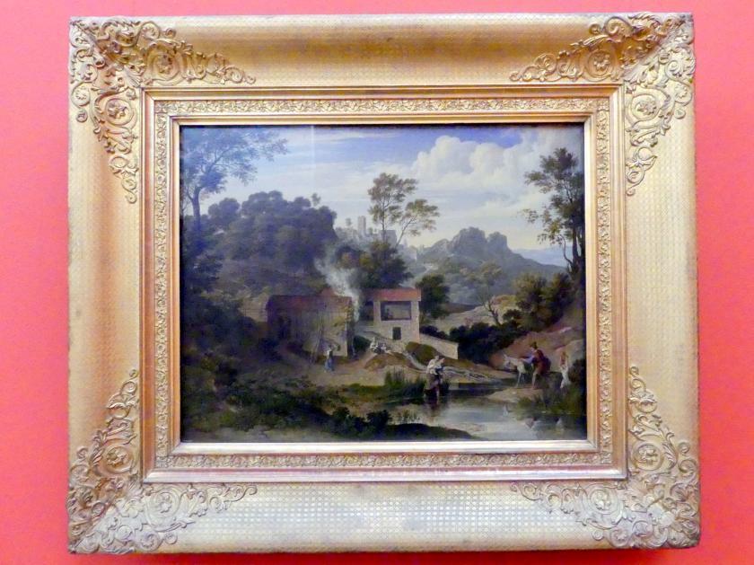 Joseph Anton Koch: Ziegelhütte bei Olevano, um 1830