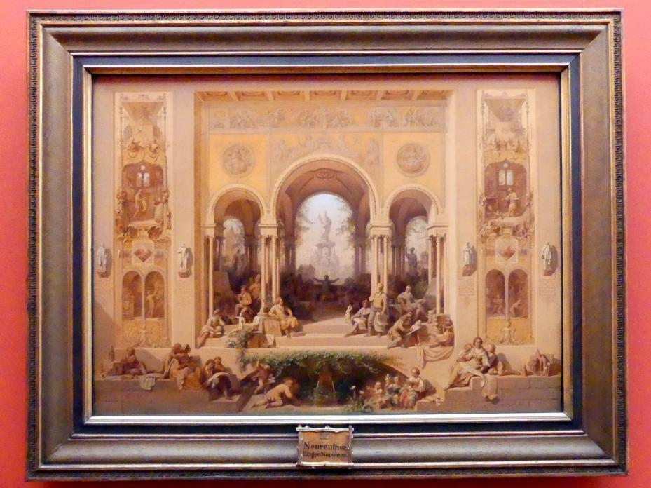 Eugen Napoleon Neureuther: Blüte der Kunst in München, 1861