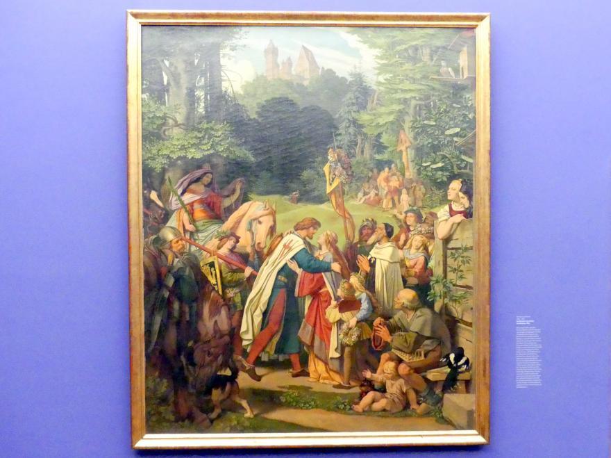 Moritz von Schwind: Die Rückkehr des Grafen von Gleichen, 1864