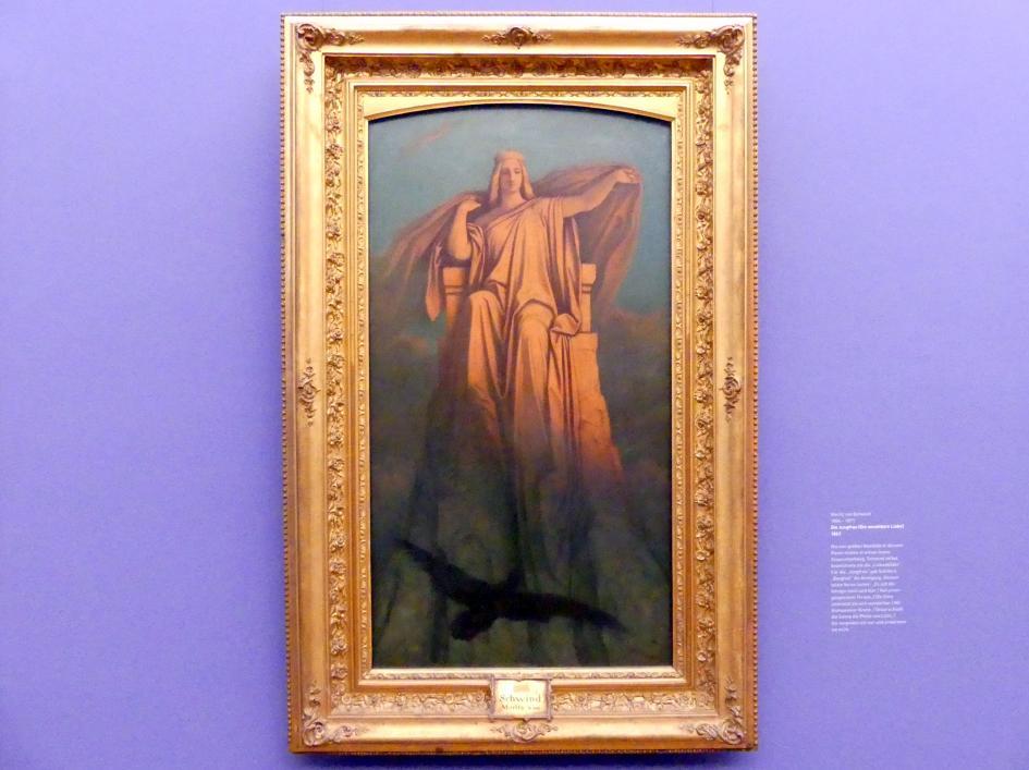 Moritz von Schwind: Die Jungfrau (Die unnahbare Liebe), 1863