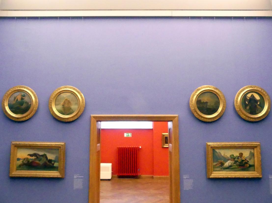 Moritz von Schwind: Die vier Tageszeiten, Um 1860