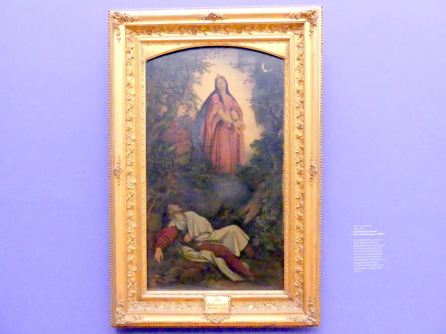 Moritz von Schwind: Die gefangene Prinzessin (Der Liebe Erfüllung), Um 1860 - 1863