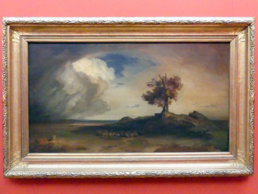 Carl Rottmann: Griechische Küste bei Sturm, um 1849 - 1850
