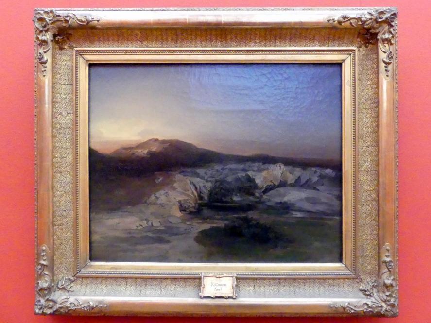 Carl Rottmann: Die Quelle Kallirrhoe bei Athen, um 1848