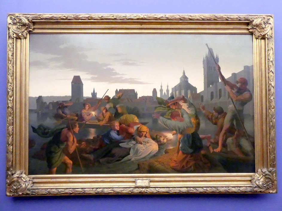 Joseph von Führich: Der Tod des Johann von Nepomuk, 1865