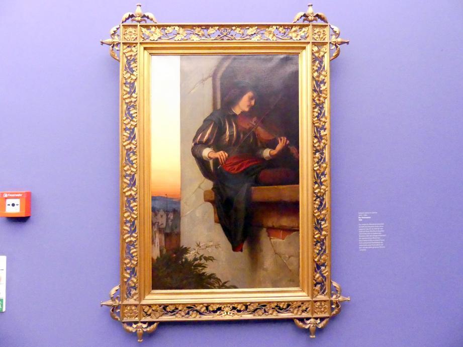 Edward von Steinle: Der Violinspieler, 1863