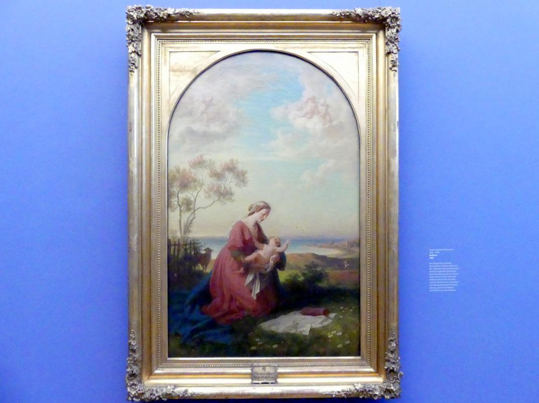Eugen Napoleon Neureuther: Madonna, 1865