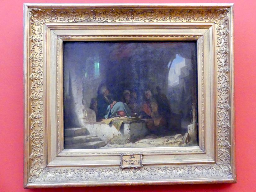 Carl Spitzweg: Türken in einem Kaffeehaus, Um 1855